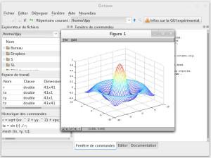 GNU Octave 3.8 GUI
