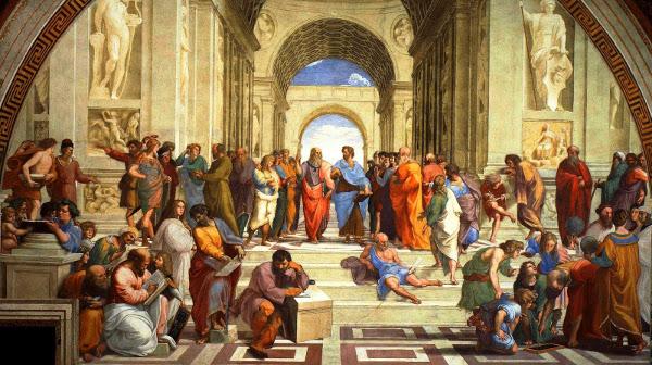 L'École d'Athènes, par Raphaël