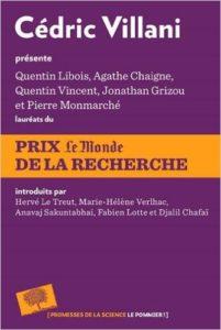 Couverture du livre sur les lauréats du prix Le Monde 2015