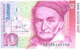 Carl Friedrich Gauss (1777 - 1855)