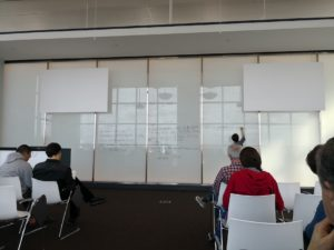 The mega white board at ICERM