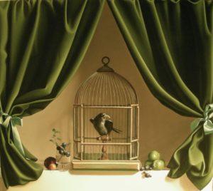 Paul Magendie - La cage ouverte.