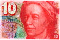 Former Suiss banknote